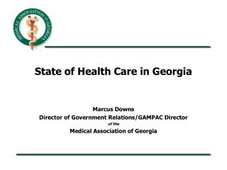 State of Health Care in Georgia