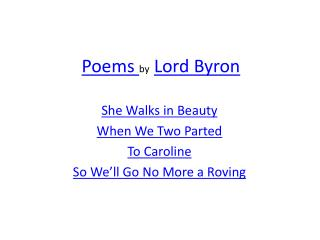 the love affair in when we two parted by lord byron When we two parted lord byron  rich used poetry to express feelings fell in love with distant cousin wrote from young age born in 1788 had affair with half sister.
