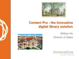 Content Pro : the Innovative digital library solution