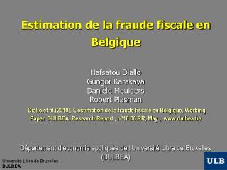 Définition de la fraude fiscale