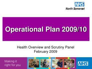 Operational Plan 2009/10