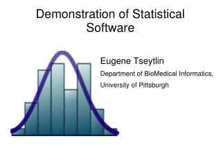 Demonstration of Statistical Software