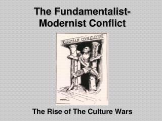 The Fundamentalist-Modernist Conflict