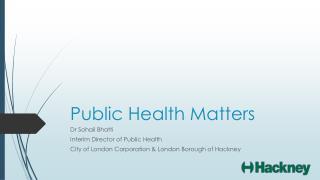 Public Health Matters