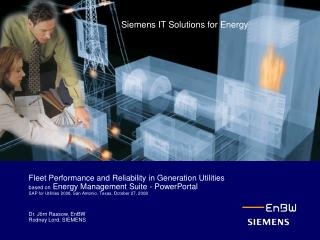 Siemens IT Solutions for Energy