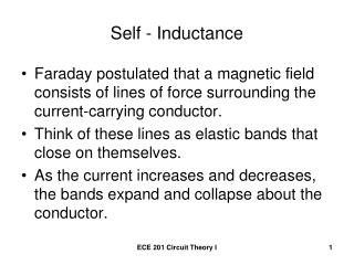 Self - Inductance
