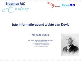 1ste Informatie-avond ziekte van Devic