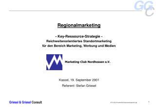 Kassel, 19. September 2001 Referent: Stefan Griesel