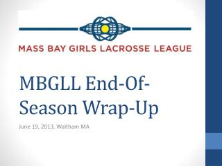 MBGLL End-Of-Season Wrap-Up