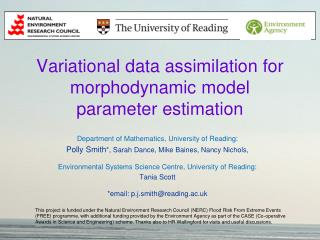Variational data assimilation for morphodynamic model parameter estimation