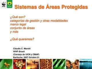 Sistemas de Áreas Protegidas
