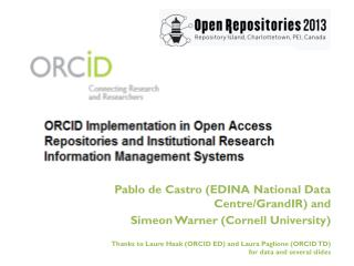 What is your ORCID?