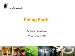 Anthony Kleanthous 25 November , 2010