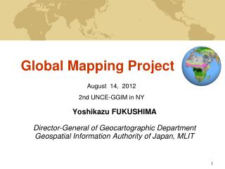 Global Mapping Project