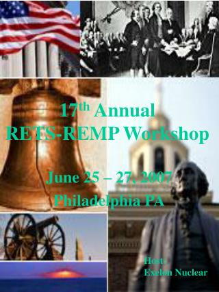 17 th  Annual RETS-REMP Workshop