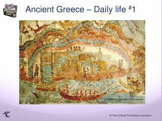 Ancient Greece –  D aily life  # 1