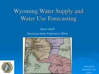 Wyoming Water Supply and Water Use Forecasting