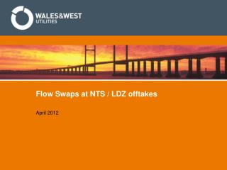 Flow Swaps at NTS / LDZ offtakes