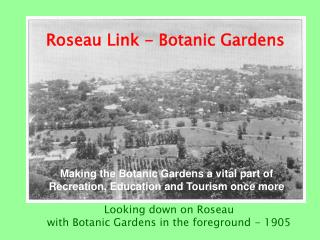 Roseau Link - Botanic Gardens