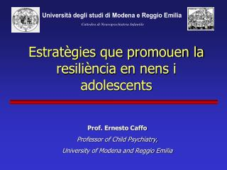 Estratègies que promouen la resiliència en nens i adolescents