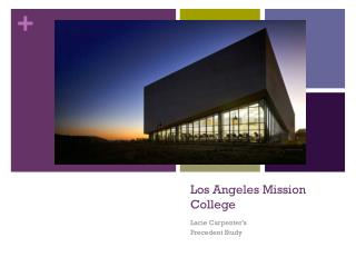 Los Angeles Mission College