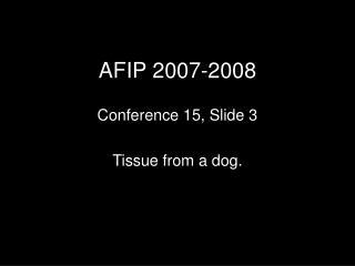 AFIP 2007-2008