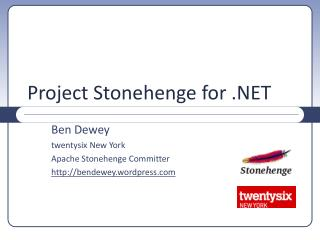 Project Stonehenge for .NET