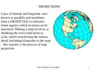 Harry Williams, Cartography