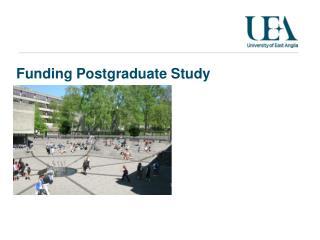 Funding Postgraduate Study