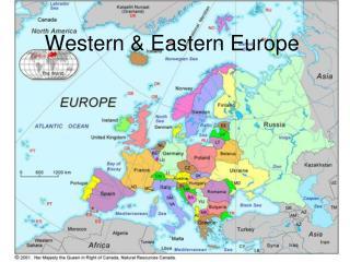 Western & Eastern Europe