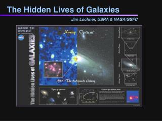 The Hidden Lives of Galaxies