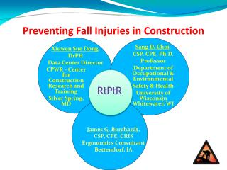 Preventing  Fall  Injuries in Construction
