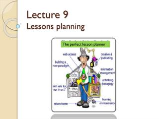 Lecture 9  Lessons planning
