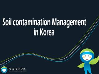 Soil contamination Management