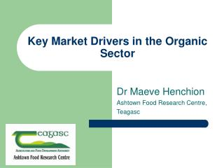 Key Market Drivers in the Organic Sector