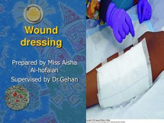 Wound dressing