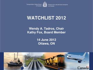 WATCHLIST 2012