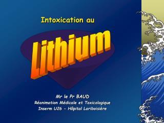 Intoxication au
