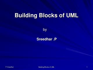 Building Blocks of UML