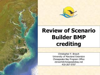 Review of Scenario Builder BMP crediting