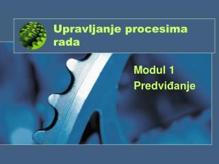 Upravljanje procesima rada