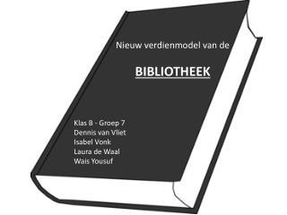 Nieuw verdienmodel van de BIBLIOTHEEK