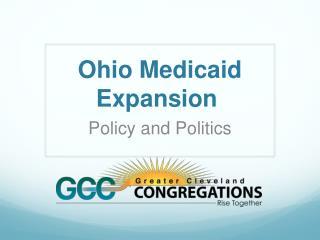 Ohio Medicaid Expansion