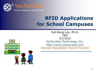 RFID Applications for School Campuses