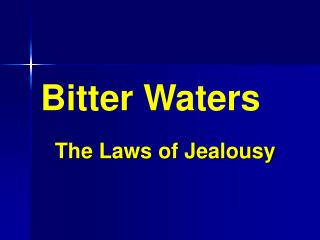 Bitter Waters