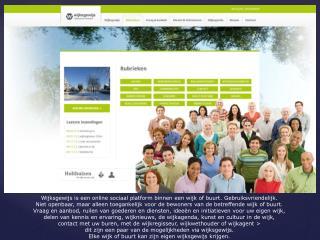 Wijksgewijs  is een online sociaal platform binnen een wijk of buurt.  Gebruiksvriendelijk.