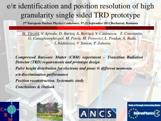 e/π identification and position  resolution  of high granularity single sided TRD prototype