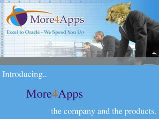 Introducing More4Apps