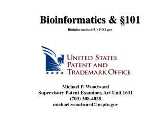 Michael P. Woodward Supervisory Patent Examiner, Art Unit 1631 (703) 308-4028