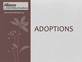 Adoptions